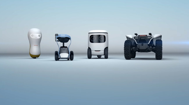 Honda presentará cuatro robots en el CES 2018, tres de ellos relacionados con la movilidad