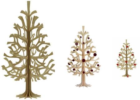Una buena idea: minimalismo en el árbol de Navidad