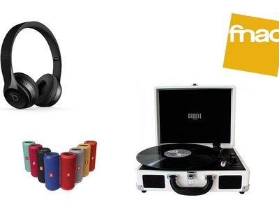 Black Friday. Beats Solo 3, JBL Flip 3 y tocadiscos Groove S1000: interesantes rebajas en sonido en Fnac