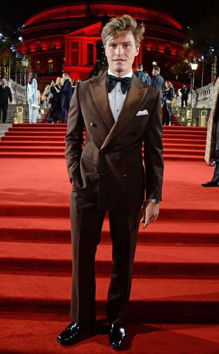 Oliver Cheshire Alfombra Roja Red Carpet British Fashion Awards 2018