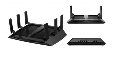 NETGEAR Nighthawk X6, router WiFi AC tribanda de hasta 3,2 Gbps