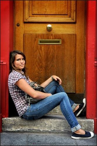 Looks de entretiempo vistos en la calle jeans iii