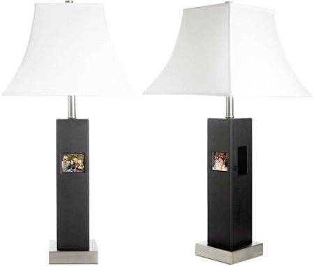 Tao 84000, marco digital y lámpara, dos en uno