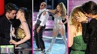 Los mejores momentos de los MTV Movie Awards, con muchos besos incluídos