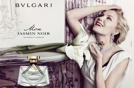 Kirsten Dunst saca lo mejor de sí para Bulgari Mon Jasmin Noir