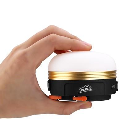 Cupón de descuento de 4 euros en la linterna de camping Hihill: aplicándolo se queda en 4,99 euros en Amazon