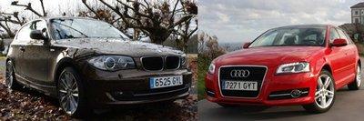 Comparativa: Audi A3 vs BMW Serie 1, duelo de veteranos