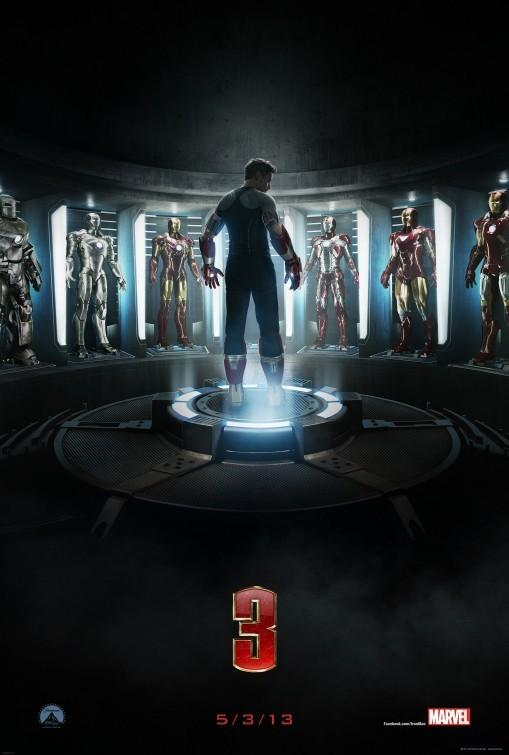 Foto de Todos los carteles de la película 'Iron Man 3' (1/10)