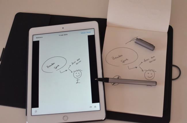 Bamboo Spark, probamos un cuaderno digital muy sencillo de usar pero solo apto para fieles al papel