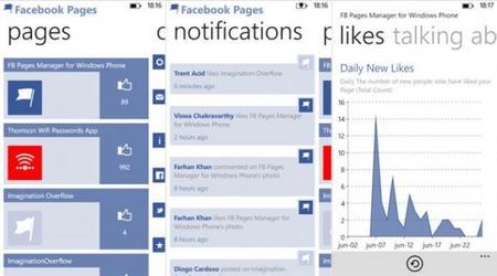 FB Pages Manager, gestiona páginas de Facebook en tu Windows Phone