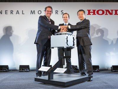 Honda y General Motors honran su acuerdo con el hidrógeno con una fábrica de pilas de combustible
