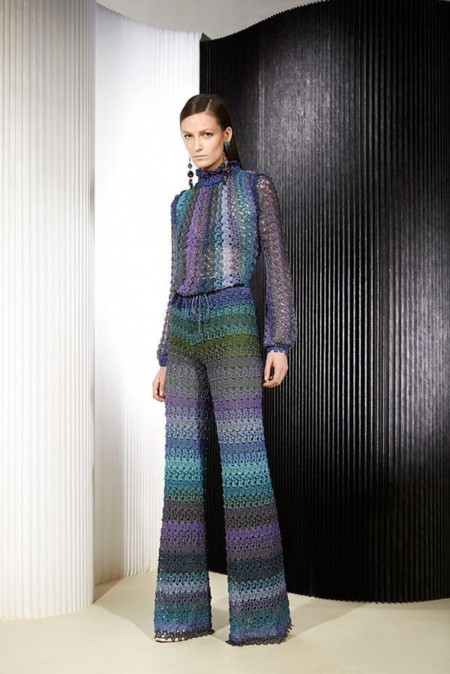 Missoni Look Book Pre Autumn Fall 201519