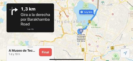 Apple activa la navegación paso a paso en la India continuando su impulso a Maps
