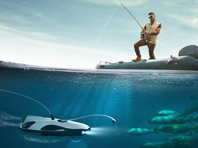 Tú pones la caña y él pone una cámara 4K y óptica ZEISS: bienvenidos a la pesca con robots y realidad virtual
