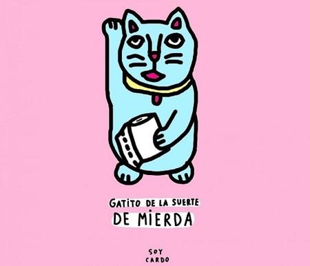 Soy Cardo, la ilustradora a la que le encanta retratarnos en el baño