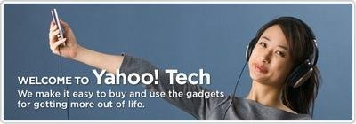 Yahoo Tech, web 2.0. para gadgets
