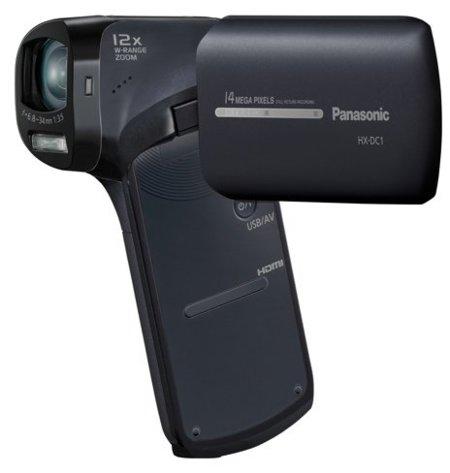 Panasonic se pasa a las videocámaras de bolsillo diferentes