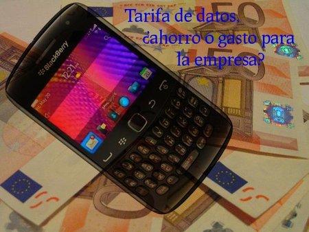 La tarifa de datos de los teléfonos móviles es un ahorro para las empresas
