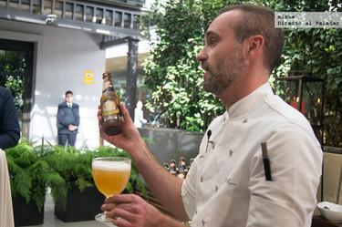 Maridaje de cervezas Grimbergen con Rodrigo de la Calle
