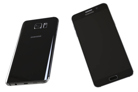 Galaxy Note 5 Render 2