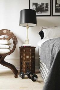 Dale un toque intercultural a la decoración de tu casa con una mesita marroquí
