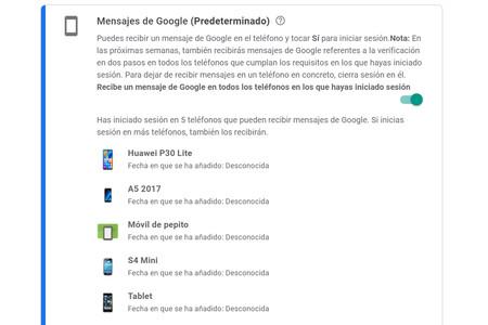 Google cambia su verificación de dos pasos con un aviso en el móvil: ahora llegará a todos tus móviles