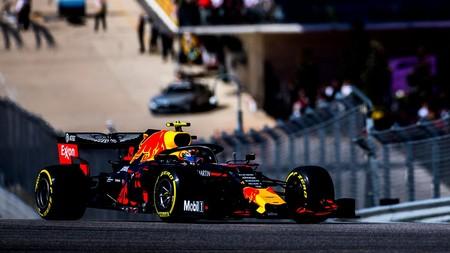 Albon Austin F1 2019