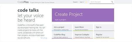 Empieza tu proyecto Open Source en las plataformas más conocidas, CodePlex