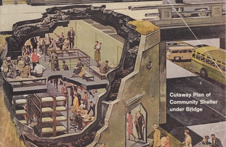 Community Nuclear Fallout Shelters