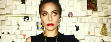 Lady Gaga continúa su romance con la moda española y viste de Juan Vidal (de nuevo)