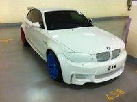 Dolorpasión™: BMW Serie 1 M Coupé, ¡viva el blanco!