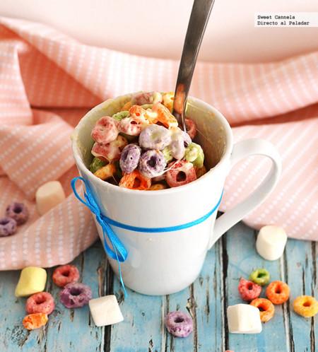Cereal con malvaviscos