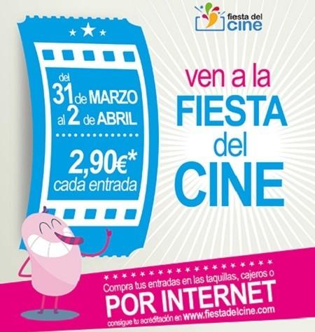 Ya podemos descargar la acreditación para 'La Fiesta del Cine' con entradas a 2,90 euros tres días