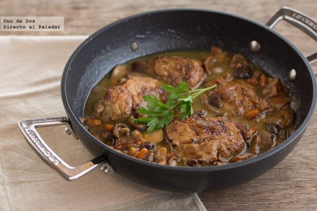Receta de mollejas de ternera guisadas al Jerez, un clásico de la cocina española