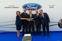 Ford invierte 812 millones de euros en Almussafes para el Kuga y Transit Connect