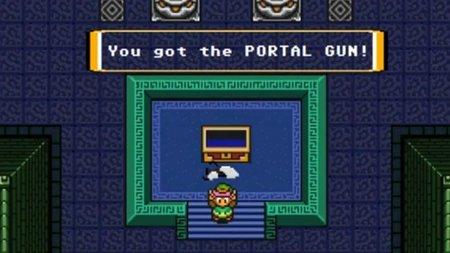 Link consigue la Portal Gun y Dorkly se vuelve a superar
