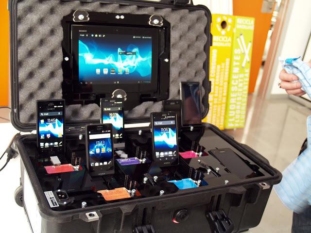Stand de Sony Xperia