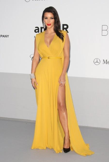 Kim Kardashian amFAR 2012 Cannes