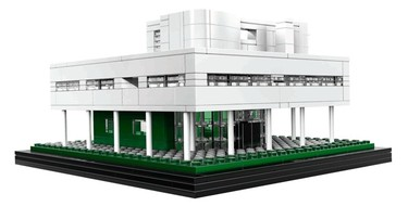 Construye tu propia Villa Saboye. Con Lego, claro