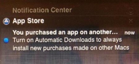 Las descargas automáticas de aplicaciones saltarán de iOS a OS X con Mountain Lion