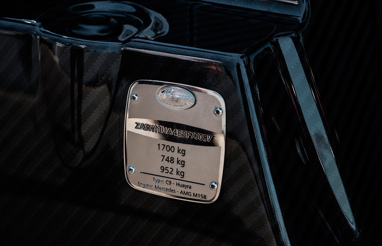 Foto de A la venta este Pagani Huayra Coupé con poco más de 1.200 km (16/21)