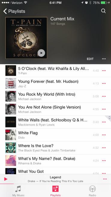 Foto de Nueva app Música en iOS 8.4 (10/17)