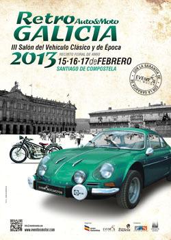 Retro Auto&Moto Galicia, del 15 al 17 de febrero en Santiago de Compostela