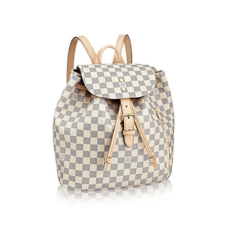 Louis Vuitton Sperone Lona Damier Azur Bolsos N41578 Pm2 Front View