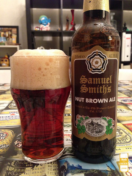 Nut Brown Ale Cerveza