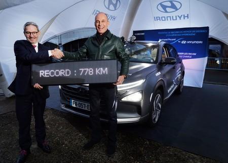Hyundai Nexo Hidrogeno Record 2