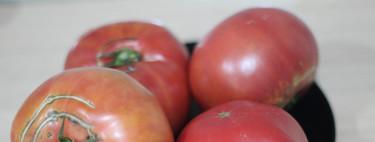 Los fabulosos tomates rosas de la sierra de Aracena