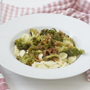 Orecchiette alla pugliese, receta de pasta tradicional italiana