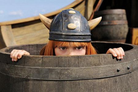 Vicky el Vikingo pasa al cine