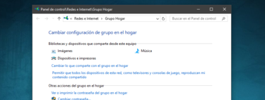 Cómo crear un Grupo de Hogar o red doméstica en Windows 10 para compartir archivos entre ordenadores